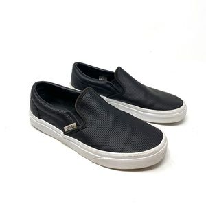 Vans off the wall slip on shoes size 7